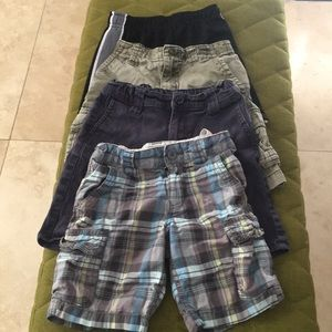 💋3/$15 Size 5 Boys shorts clothing Lot of 4
